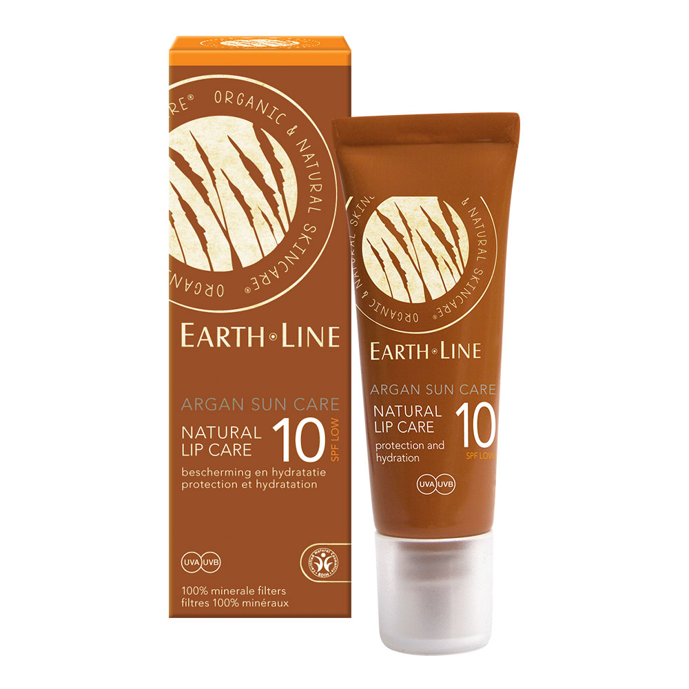 argan sun care natural lip care SPF 10 – 10 ml